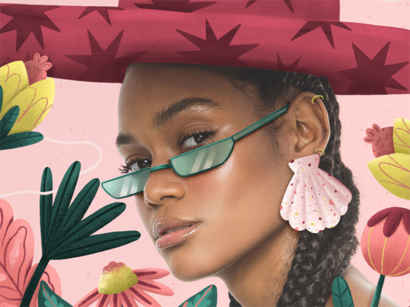 Spring Dreamy spring illustration examples you must see