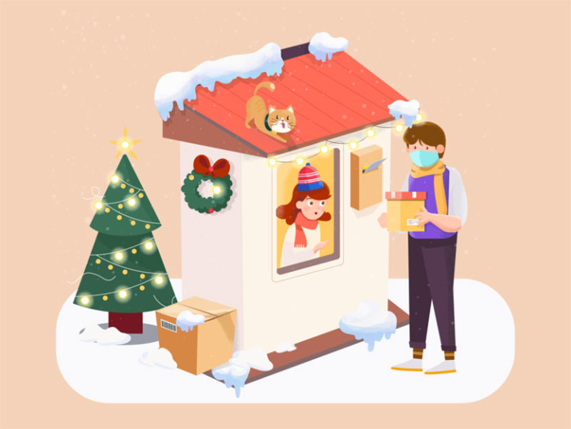 Warm-Winter-1 Christmas illustration examples that look amazing