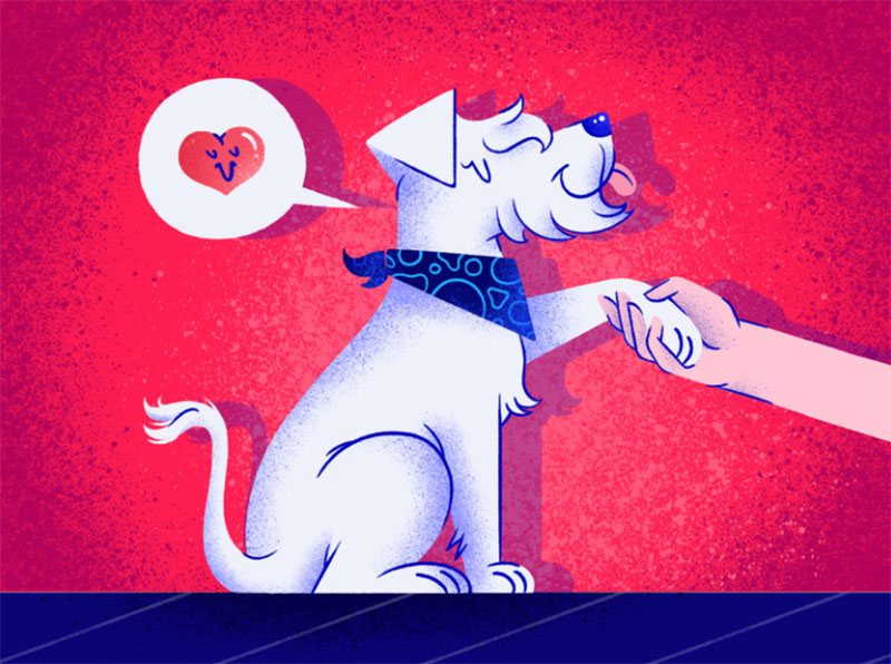Wicho Awesome dog illustration images to inspire you