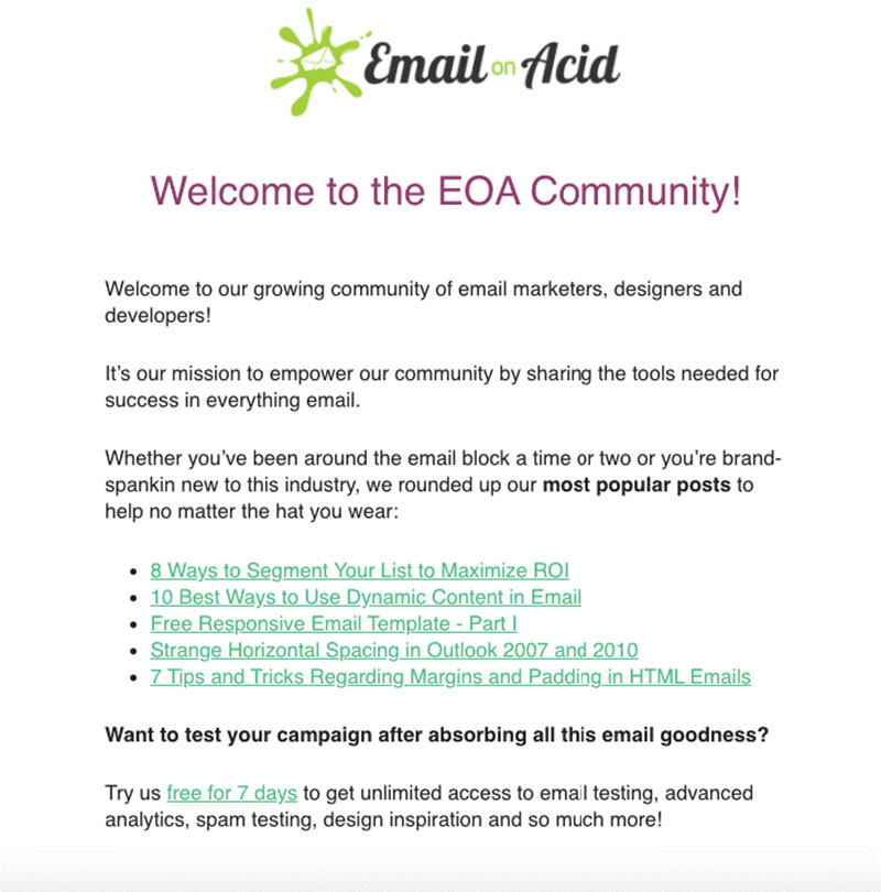 e Top 10 Examples of Welcome Email for SaaS Businesses