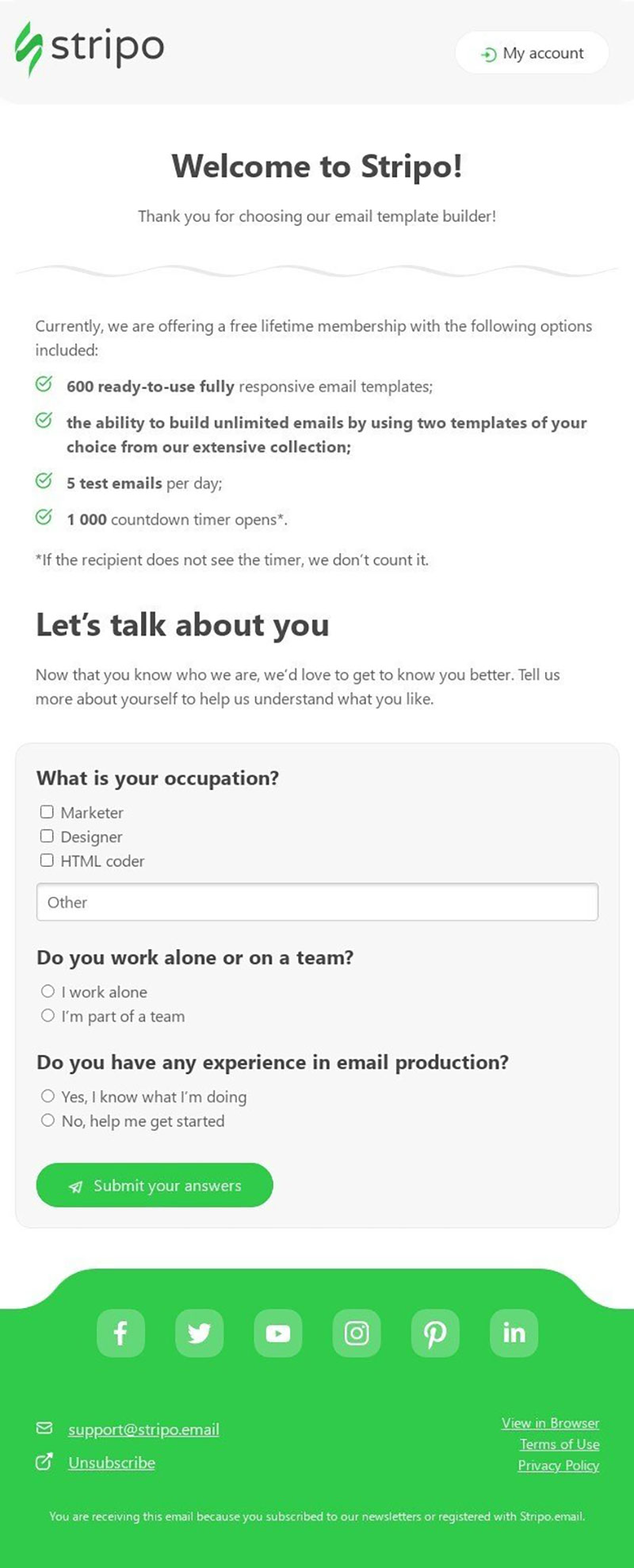 image3 Top 10 examples of welcome email for SaaS companies