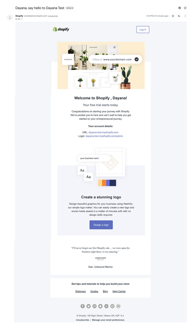 image9 Top 10 examples of welcome email for SaaS companies