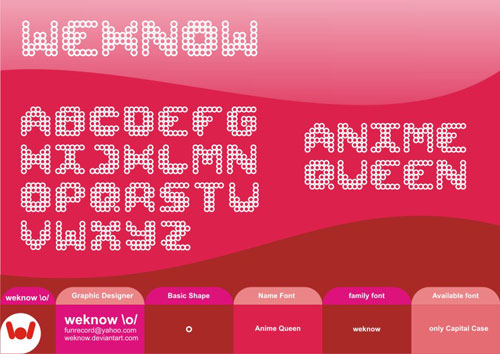 Download Anime Queen free font