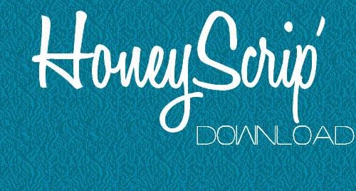 Download HoneyScrip free font