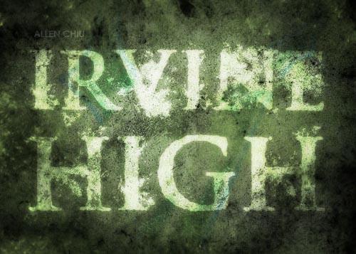 Download Irvine High free font
