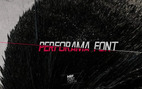 Download Performa free font