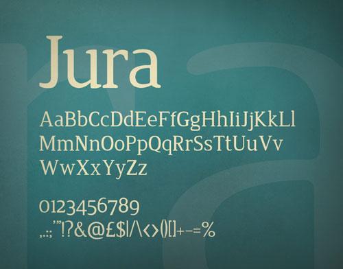 Download jura free font