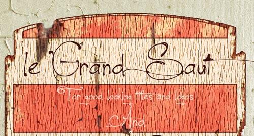 Download Le Grand Saut free font