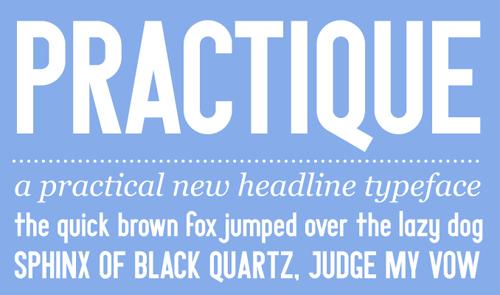 Download practique free font