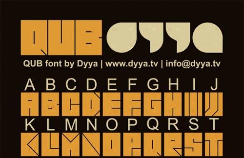 Download qub free font