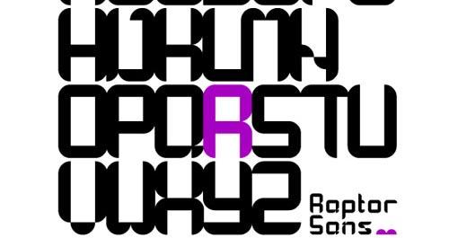 Download raptor free font
