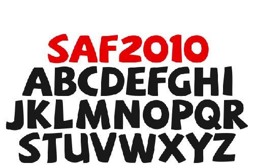 Download saf free font