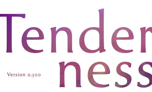 Download tenderness free font