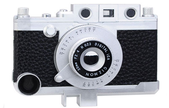 Retro camera case for iPhone