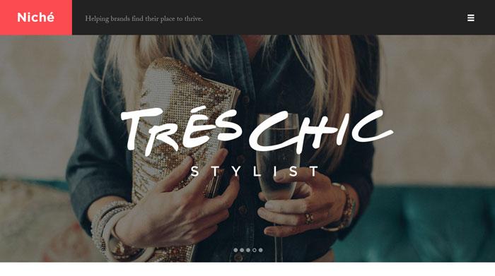 helloniche.com site design