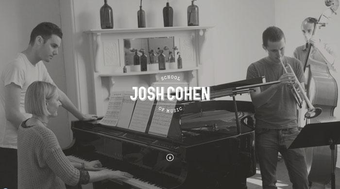 joshcohen.com.au site design