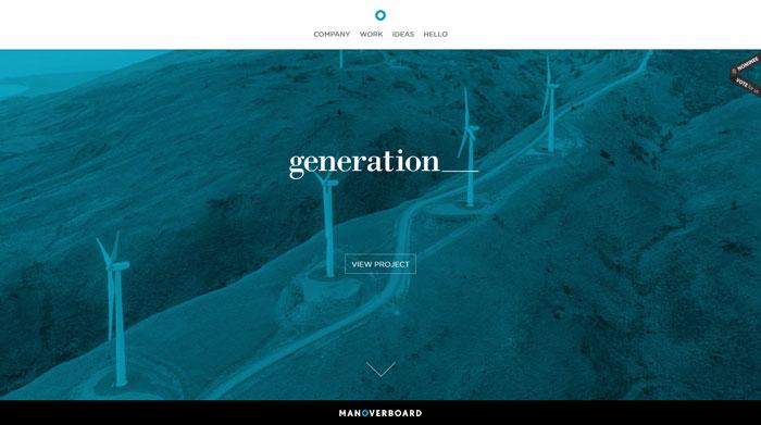 manoverboard.com site design