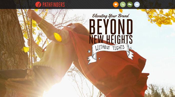 pathfind.com site design
