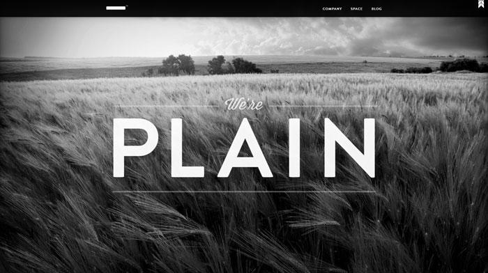 plainmade.com site design