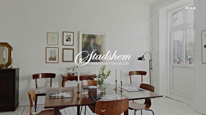 stadshem.se site design
