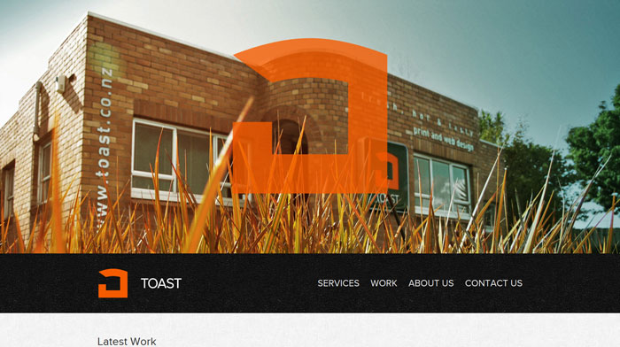 toast.co.nz site design