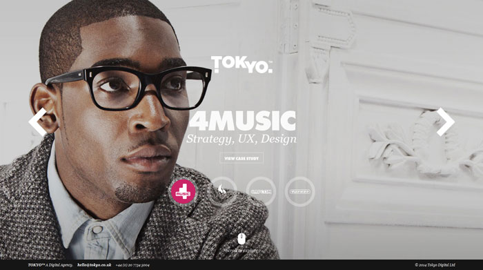 tokyo.co.uk site design