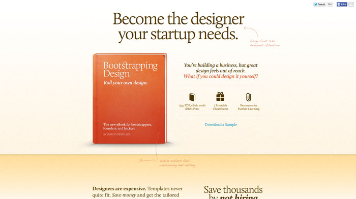 Bootstrapping design