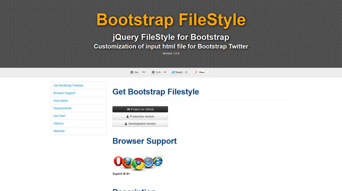 Customizable File Input Plugin With jQuery And Bootstrap