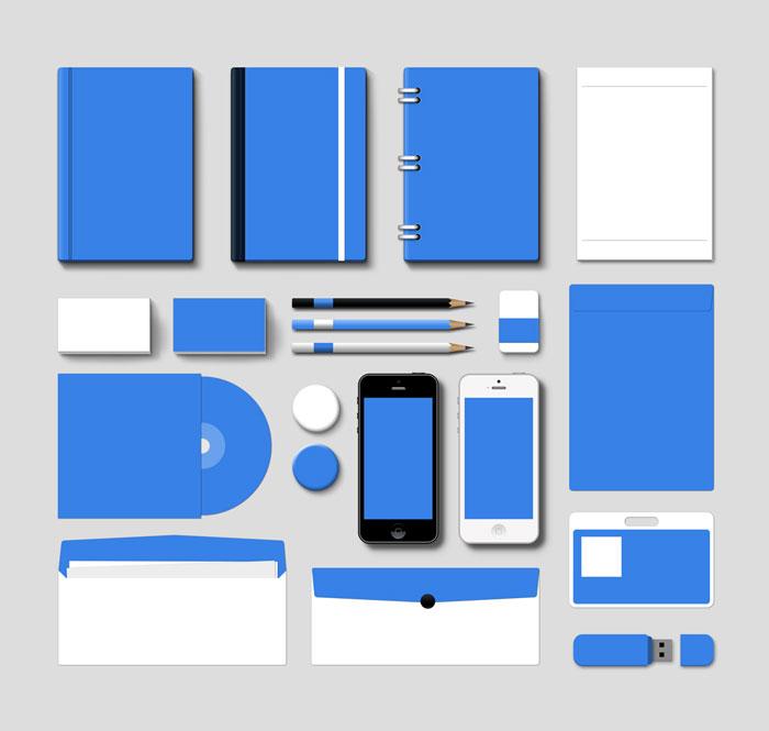 Corporate Branding Mockup Vol1 PSD