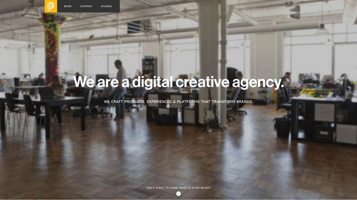 playgroundinc clean website design