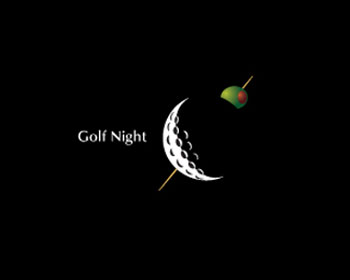 Golf Night Logo Design