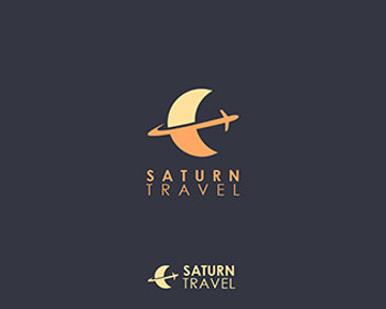 Saturn Travel Logo Design