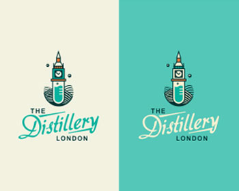 The Distillery London Logo Design