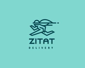 Zitat Delivery Logo Design