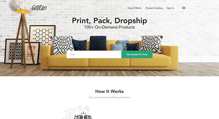gooten_com 44 Website Header Design Examples and What Makes Them Good