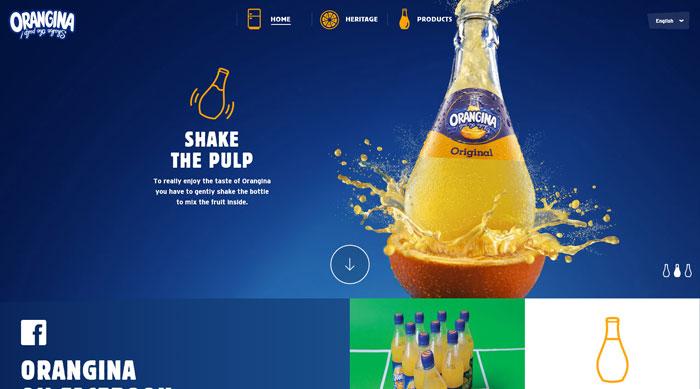orangina_eu 44 Website Header Design Examples and What Makes Them Good