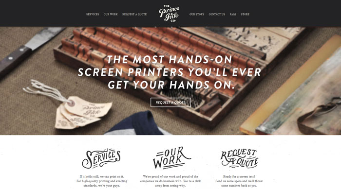 princeink_com 44 Website Header Design Examples and What Makes Them Good