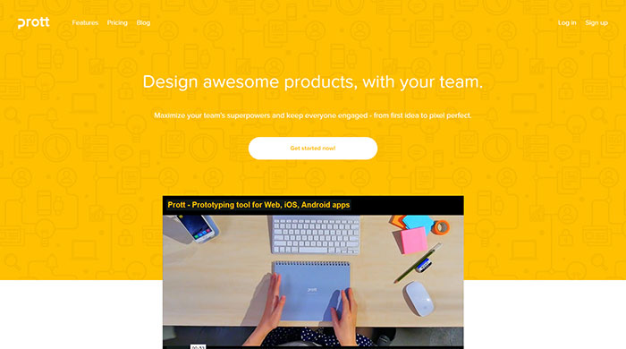 Prottapp Com Website Header Design 44 Cool Examples And What Makes Them Good