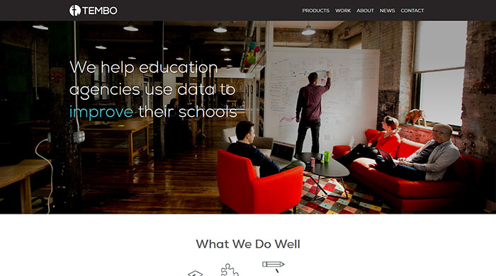 Temboinc Com Website Header Design 44 Cool Examples Of Headers