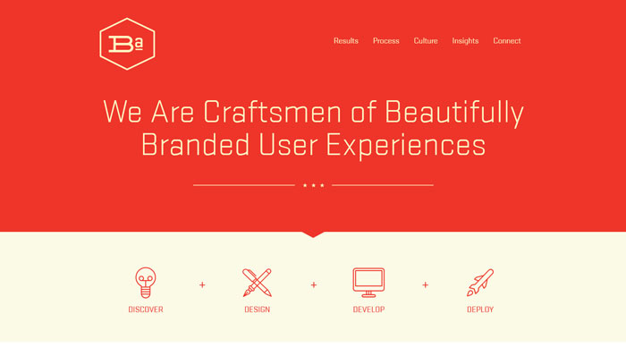 Minimalist Homepage Of A Close Look At Typography In Minimalist Web Design