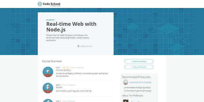 Learn Node.js on Code School