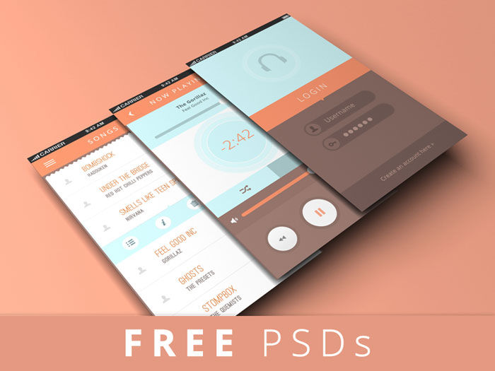 Showcase your ui designs with perspective mockups for Designing an iphone app