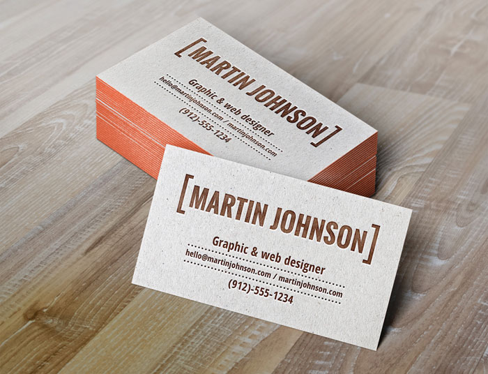 Useful mockups templates for presenting print designs letterpress business cards mock up useful mockup templates for presenting print designs cheaphphosting Choice Image