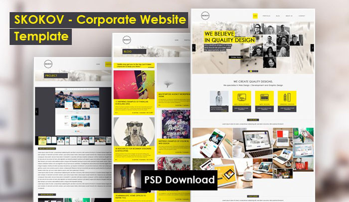 Useful Psd Templates To Download And Use