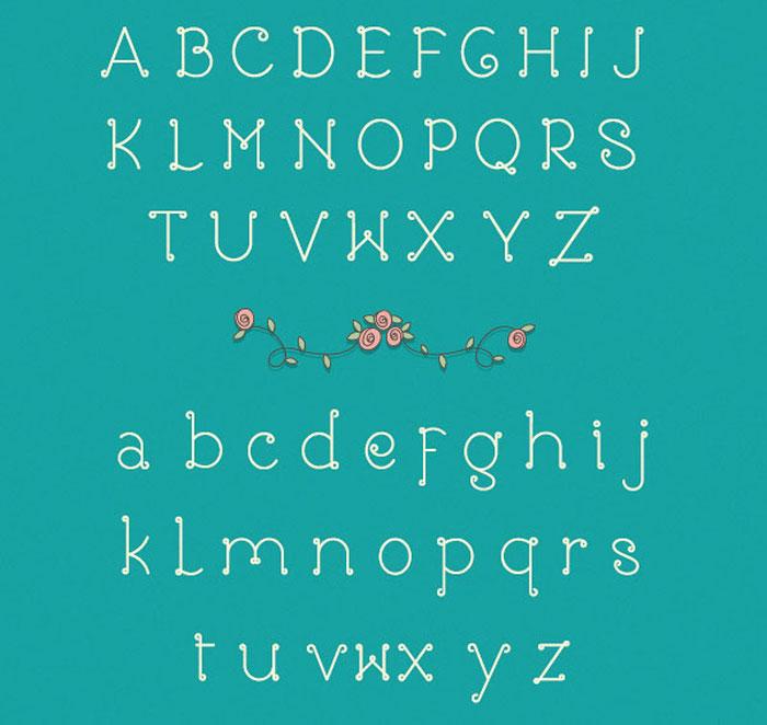 Rose Free font