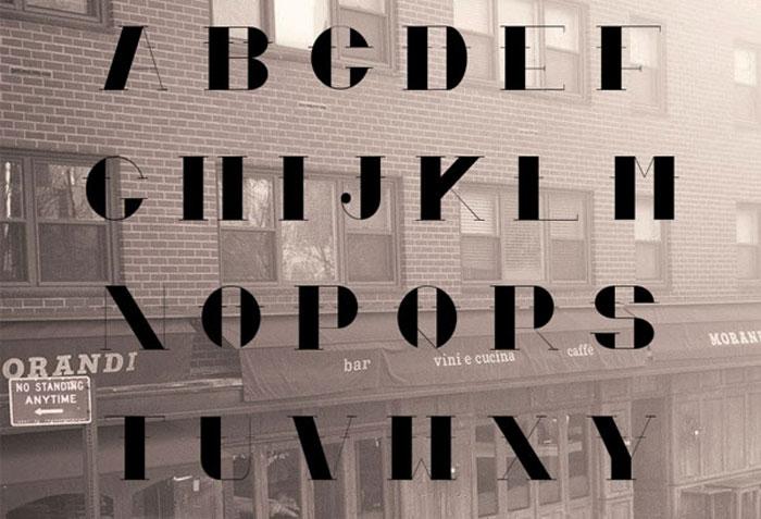 Cortes Free font