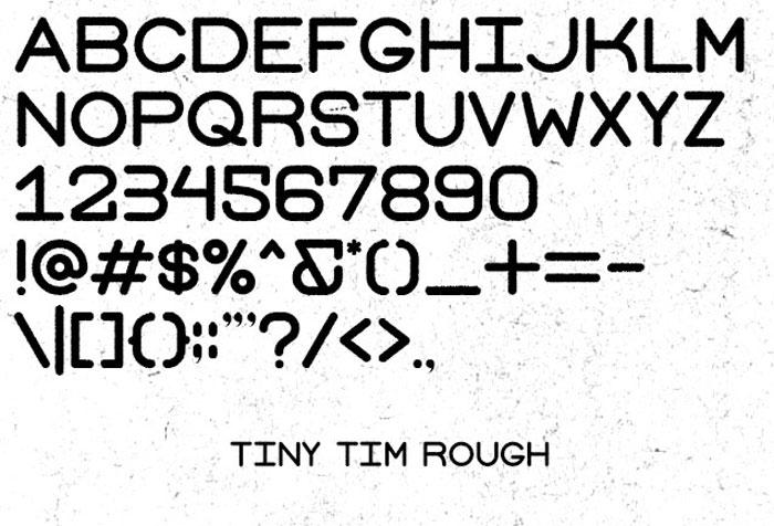 Tiny Tim Free font