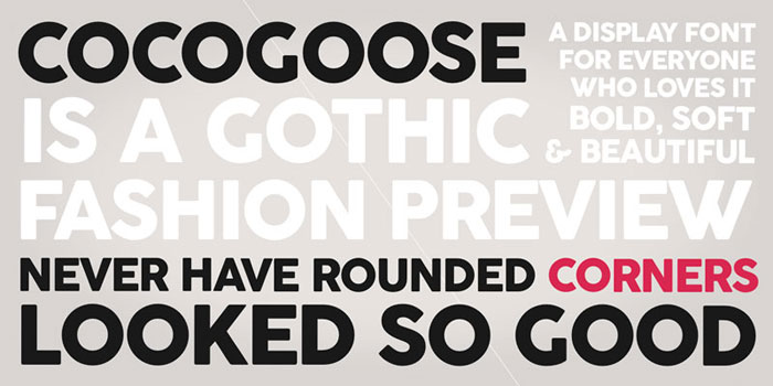 Cocogoose Free font