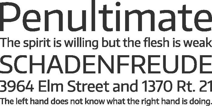 Encode Sans Free font