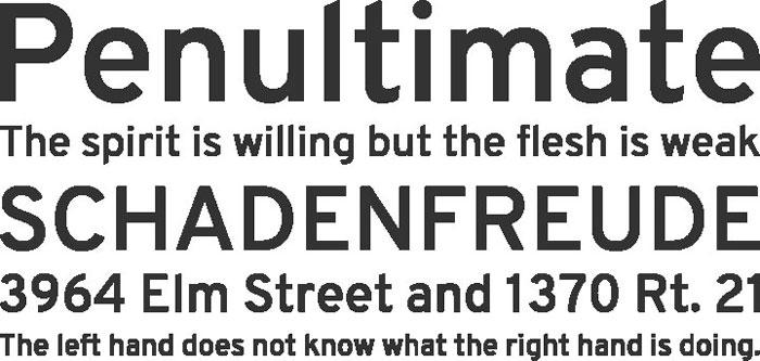 Overpass Free font